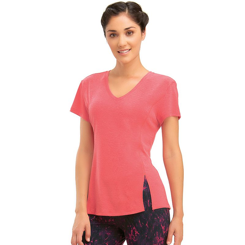 Women's Marika V-Neck Vented Workout Tee