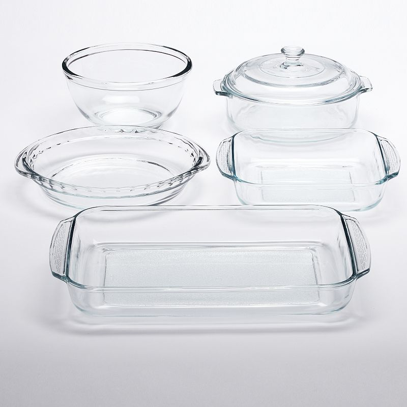 Libbey Bake 6-pc. Glass Baking Dish Set