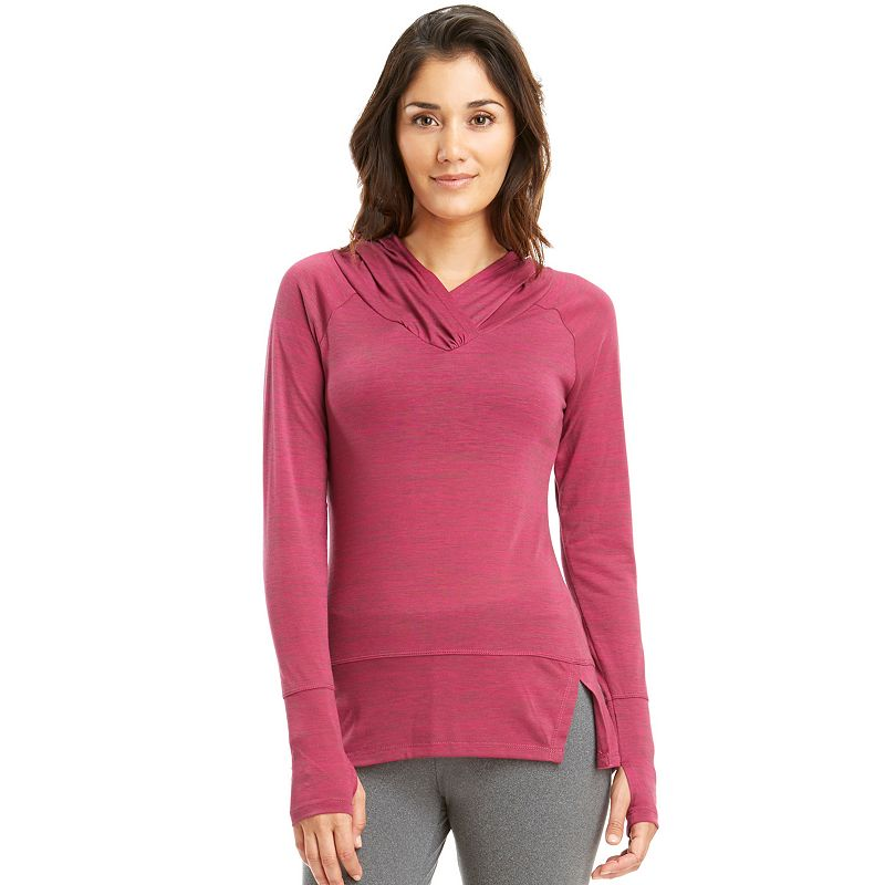 Women's Balance Collection Hibiscus Yoga Hoodie