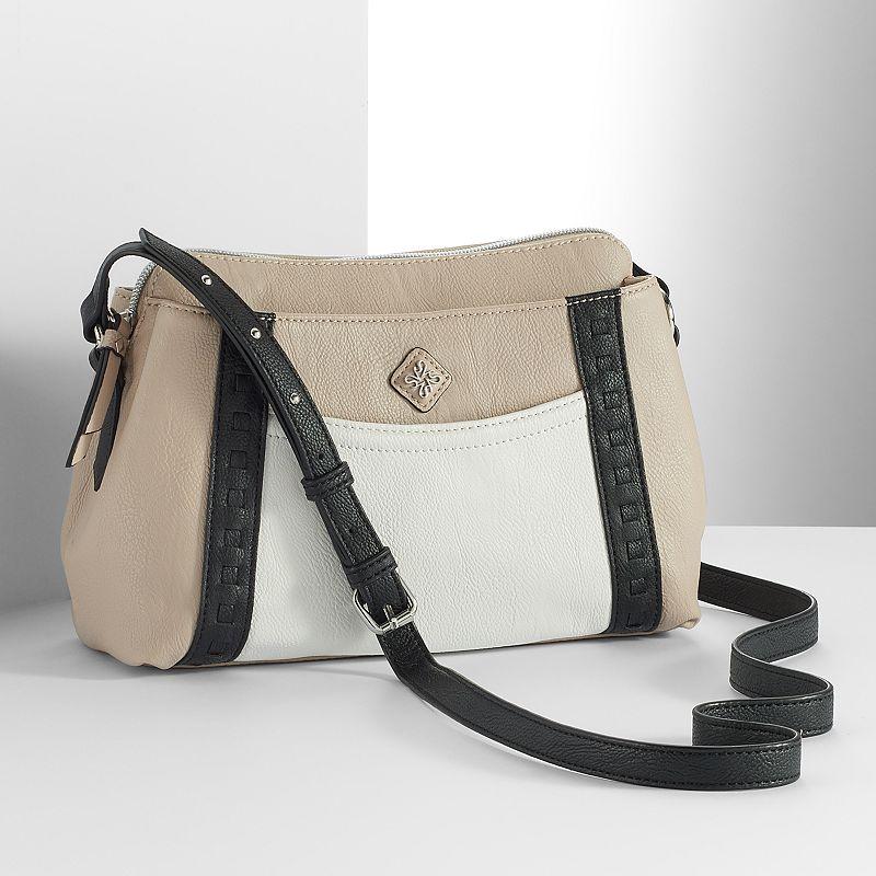 Simply Vera Vera Wang Stanzia Laced Crossbody Bag