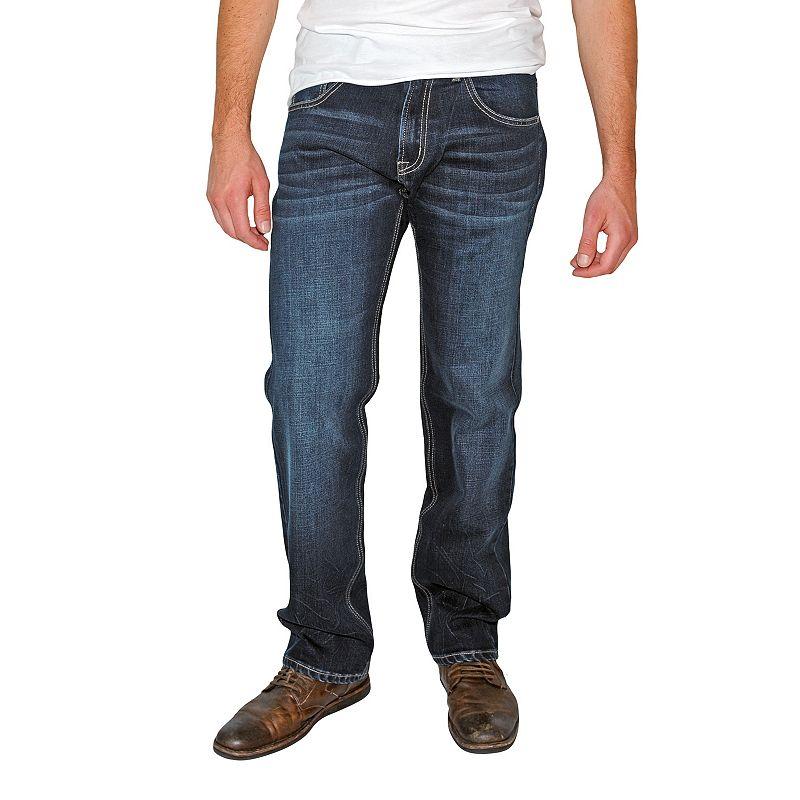 Men's Earl Jean Straight-Fit Stretch Denim Jeans