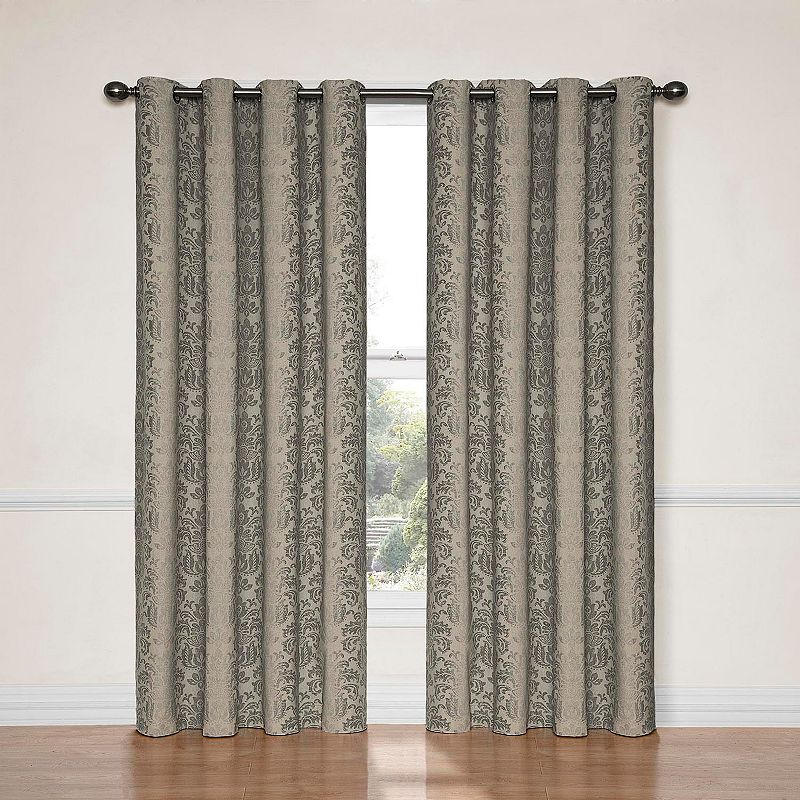 eclipse Nadya Thermalayer Blackout Textured Curtain