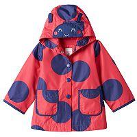 Girls 4-6x Carter's Ladybug Rain Jacket
