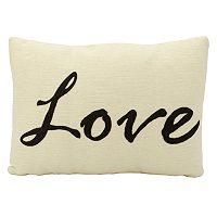 Mina Victory ''Love'' Throw Pillow