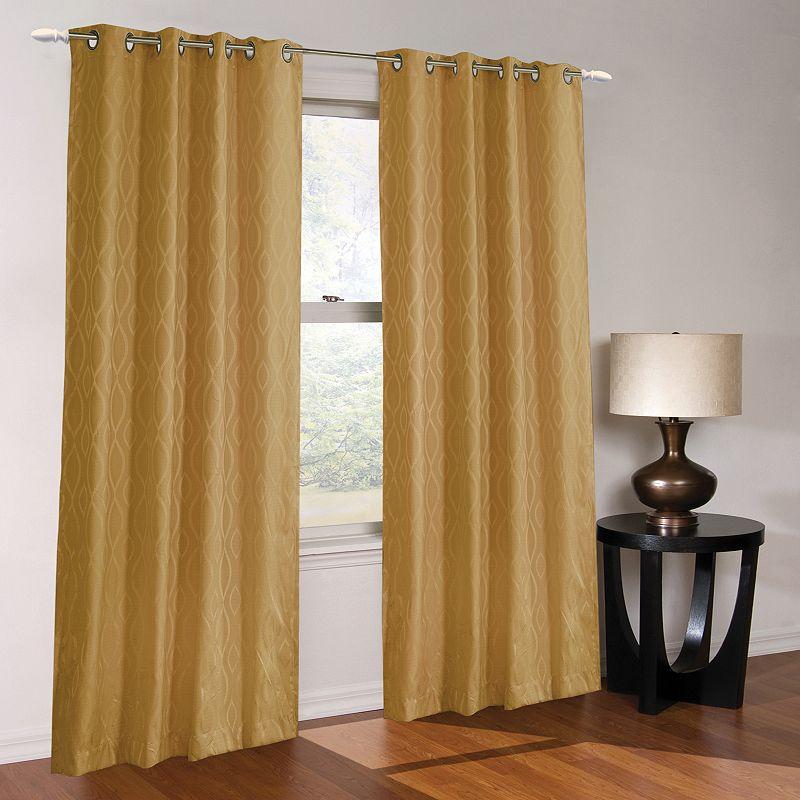 Regal Home Abilene Lined Blackout Curtain - 54'' x 84''