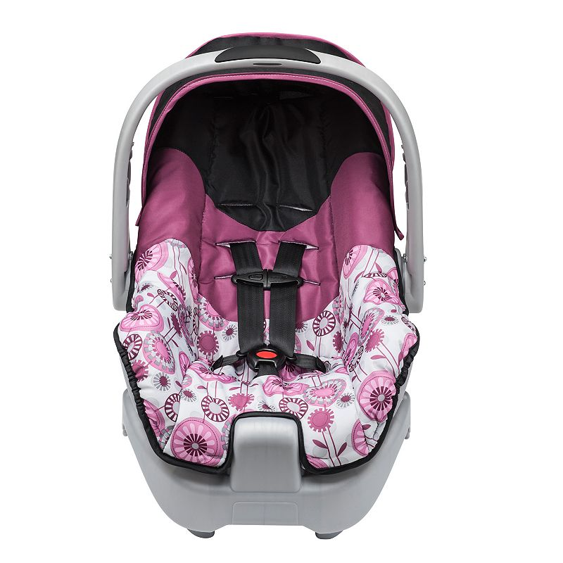 evenflo nurture brianne infant car seat pink dealtrend. Black Bedroom Furniture Sets. Home Design Ideas