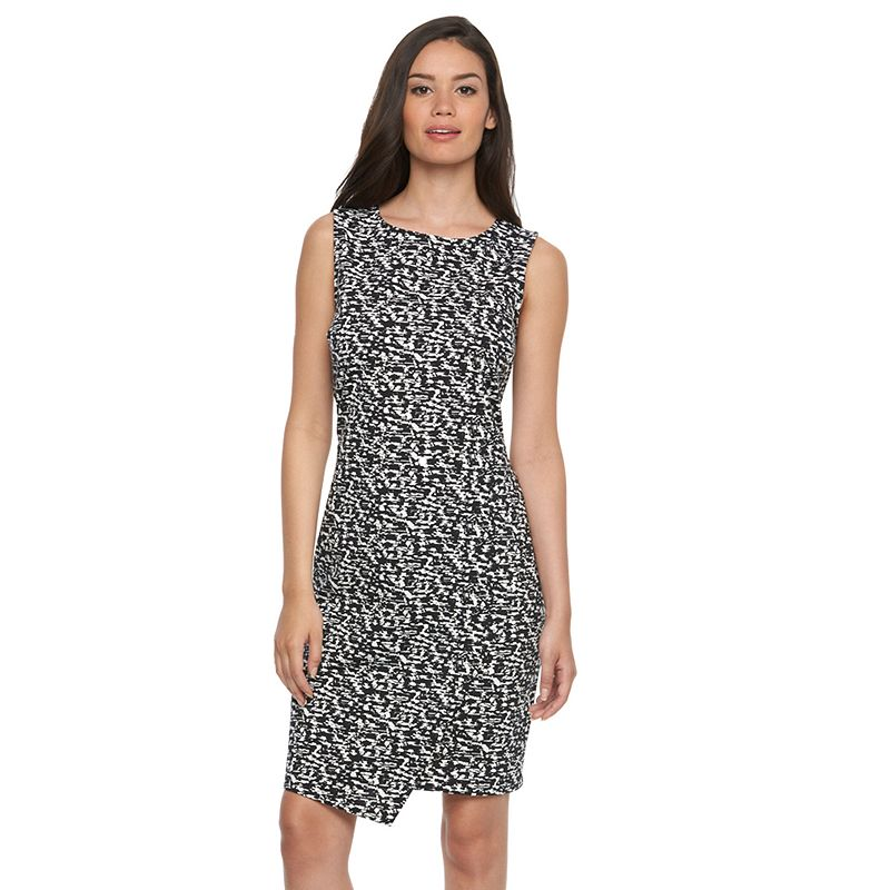 Women's Apt. 9® Asymmetrical Sheath Dress