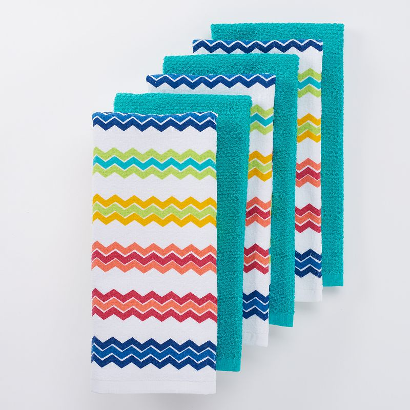The Big One® Chevron Kitchen Towels - 6-pk.