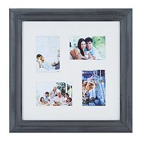 Melannco 4-Opening Distressed Collage Frame