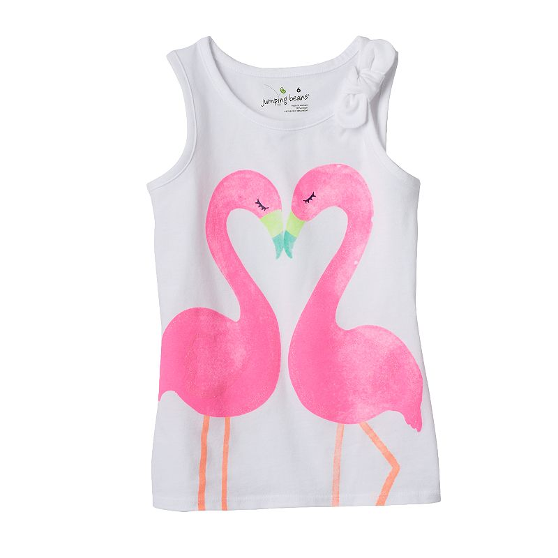 Girls 4-7 Jumping Beans® Bow Knot Graphic Tank