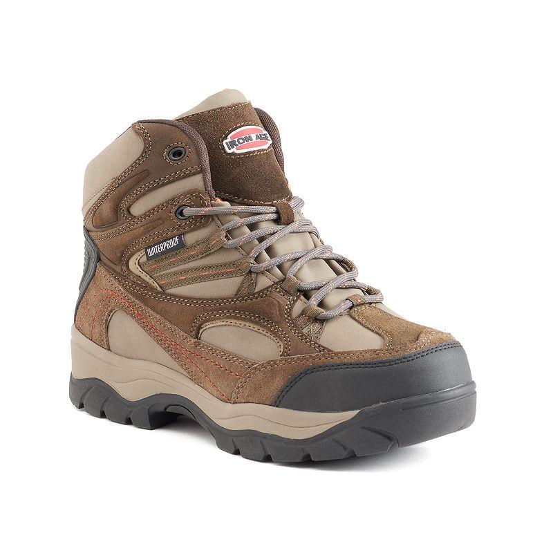 Iron Age High Ridge Men's Waterproof Steel-Toe Hiking Boots
