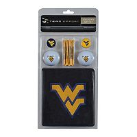 Team Effort West Virginia Mountaineers Golf Gift Set