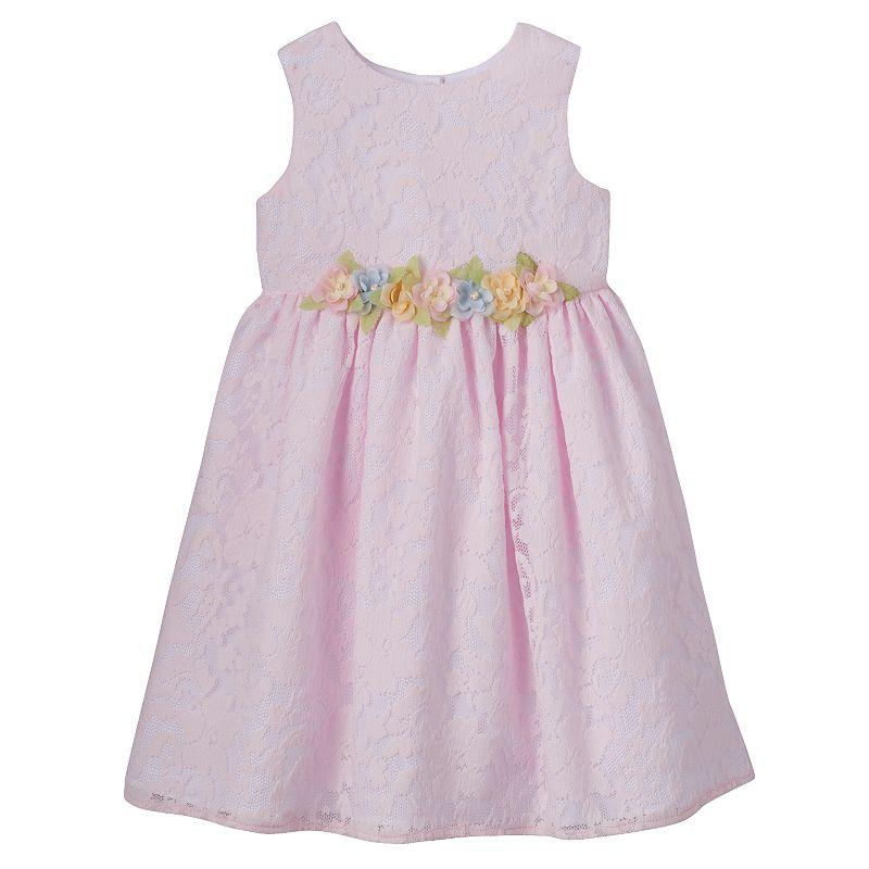 Girls 4-6x Marmellata Classics Floral Lace Organza Dress