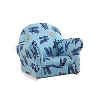 KidKraft Upholstered Airplane Rocker & Slipcover
