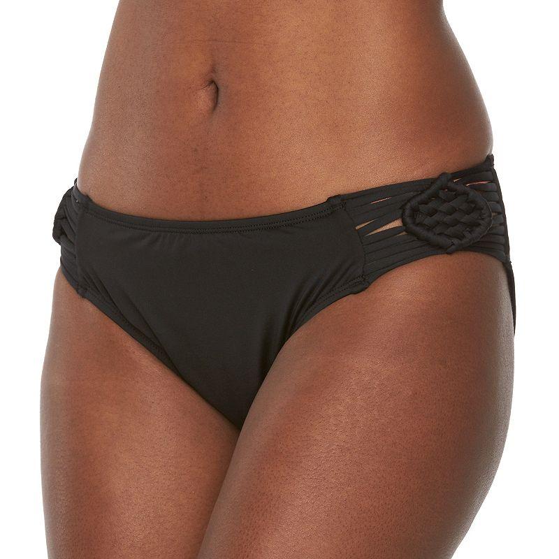Women's Apt. 9® Macrame-Side Bikini Bottoms