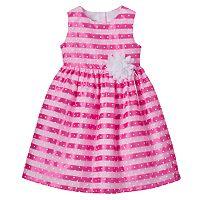 Toddler Girl Marmellata Classics Striped Polka-Dot Dress