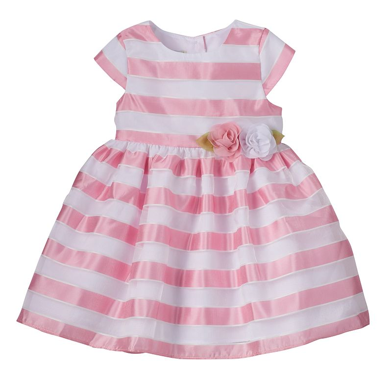Toddler Girl Marmellata Classics Sheer Stripe Dress
