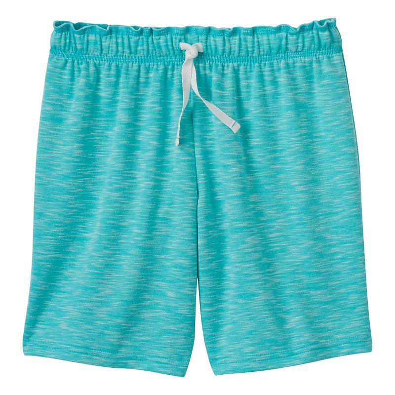 Girls 7-16 & Plus Size SO® Marled Athletic Shorts