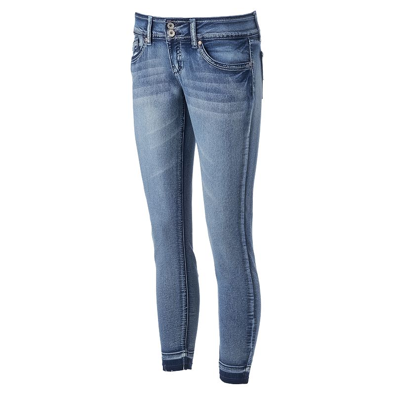 Juniors' Hydraulic Bailey Released Hem Jeans