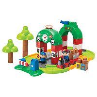 I-Builder 67-Piece Train Station Set by Winfun