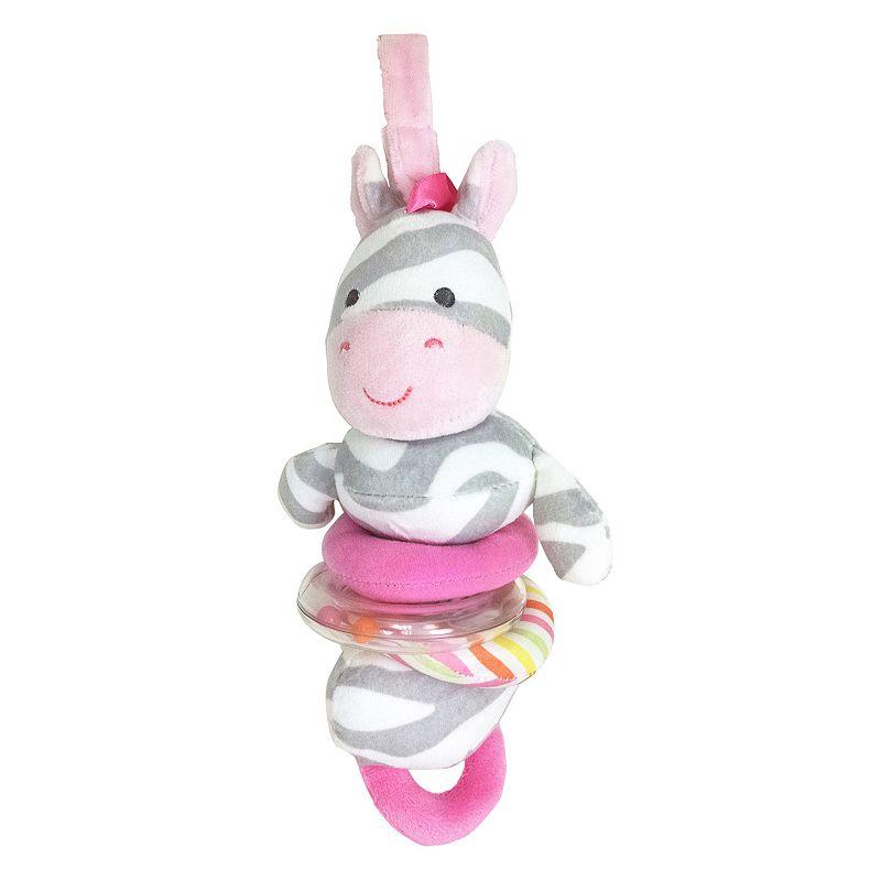 Carter's Zebra Plush Activity Toy