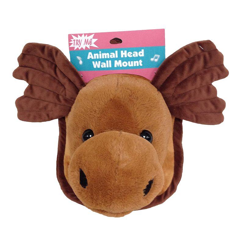 Goffa Animated Plush Moose Head & Wall Mount