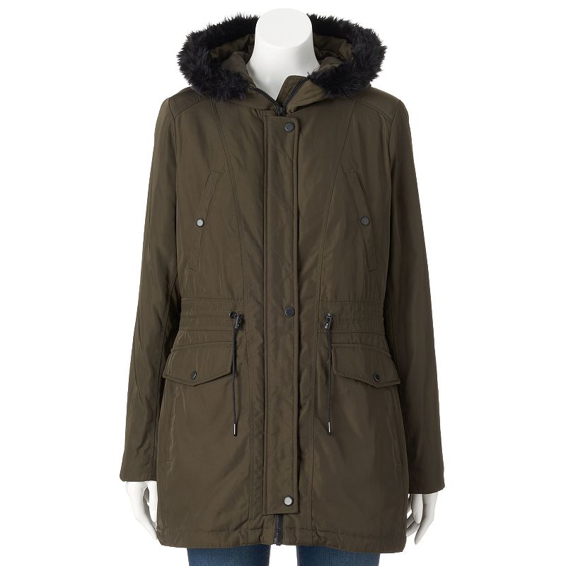 Women's AM Studio by Andrew Marc Hooded Jacket
