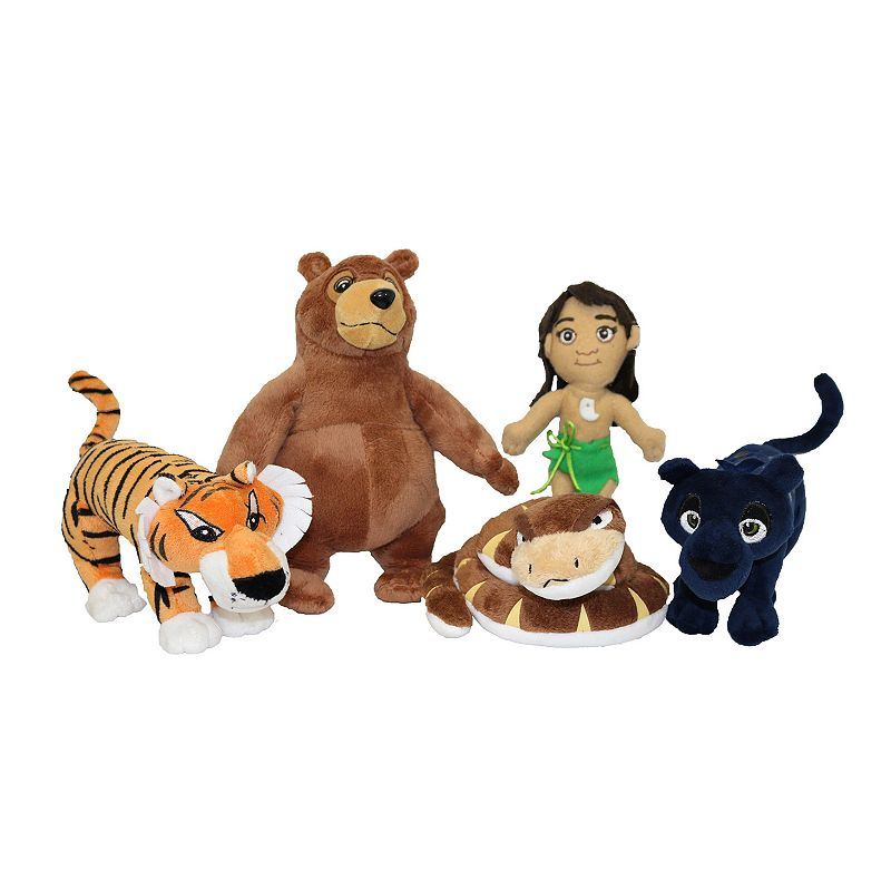Disney's The Jungle Book Plush Set by Craftstone
