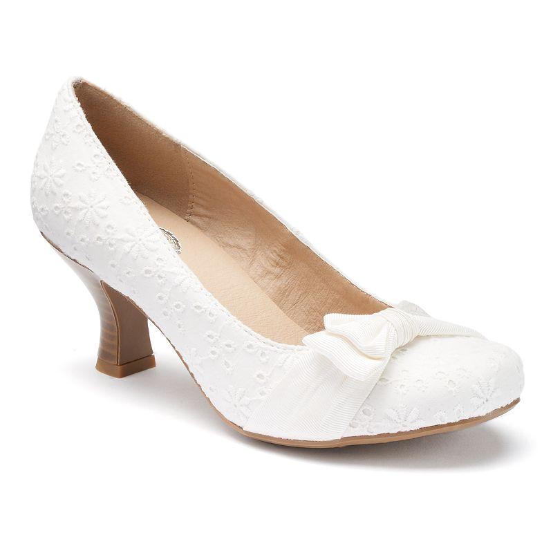 SO® Women's Slip-On High Heels