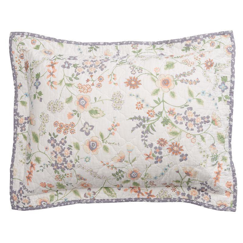 Home Classics® Sarah Purple Floral Standard Sham