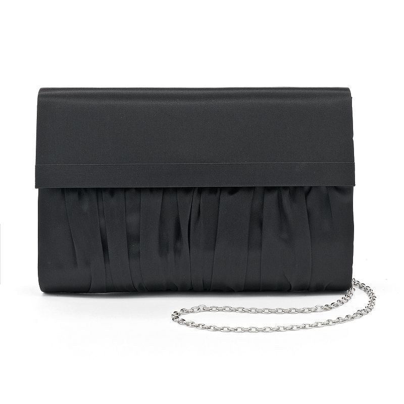 Lenore by La Regale Pleated Clutch