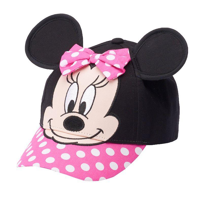 Disney Minnie Mouse Toddler Girl Baseball Cap