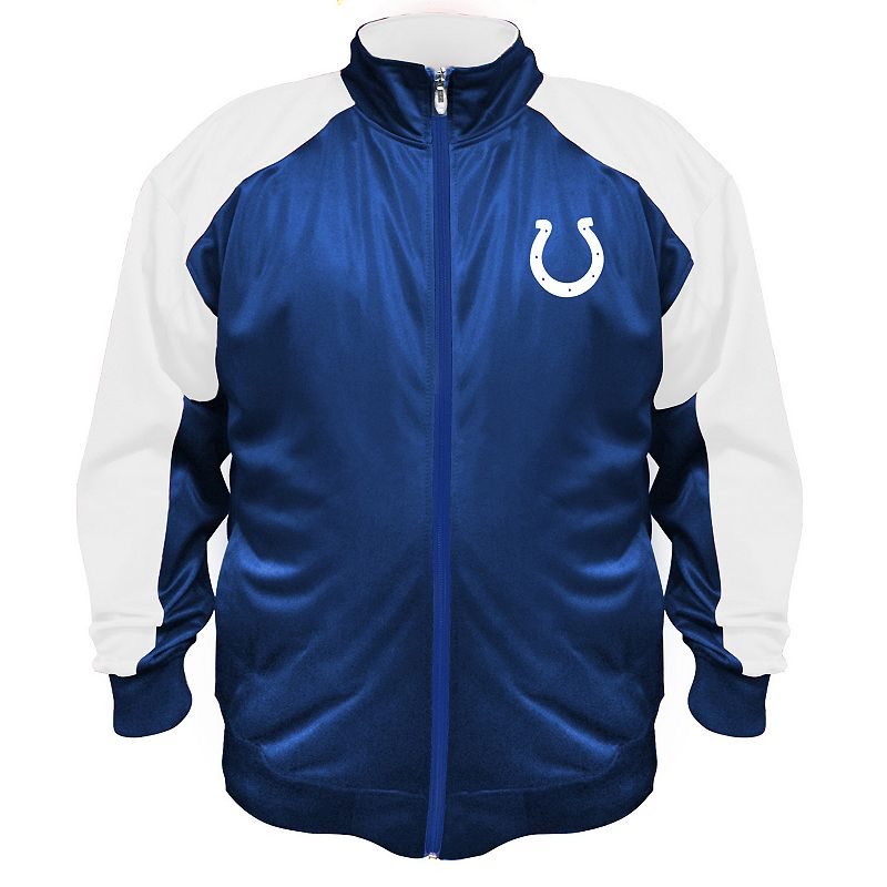 Big & Tall Majestic Indianapolis Colts Tricot Jacket
