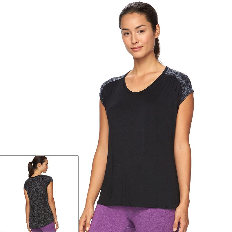 Women's Gaiam Reflect Hi-Low Tee