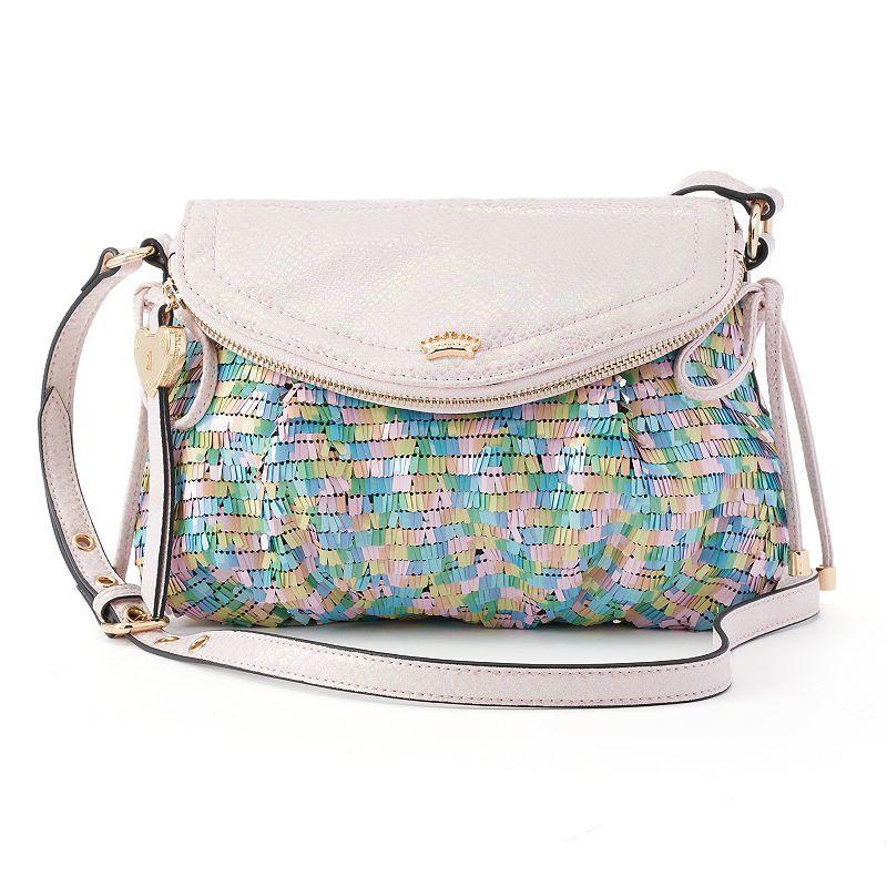 Juicy Couture Traveler Snakeskin Mini Crossbody Bag