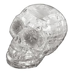 BePuzzled 48-pc. Clear Skull 3D Crystal Puzzle by