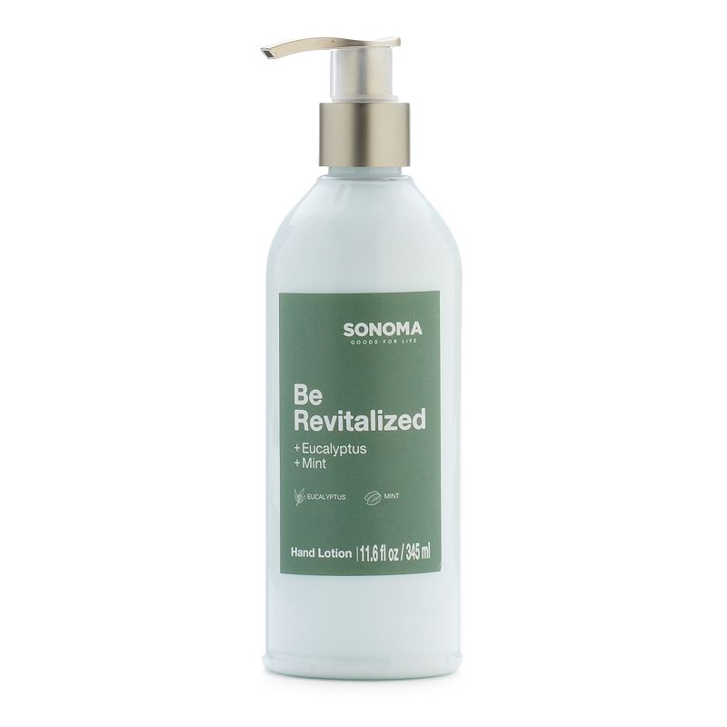 SONOMA Goods for Life™ Be Revitalized Eucalyptus & Mint Hand Lotion