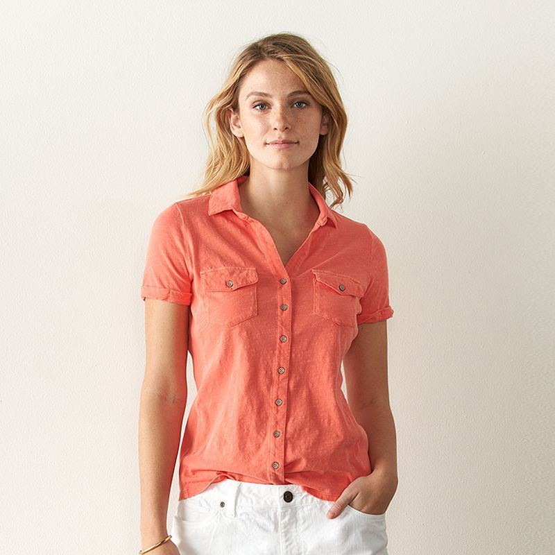 Women's SONOMA Goods for Life™ Collared Tee