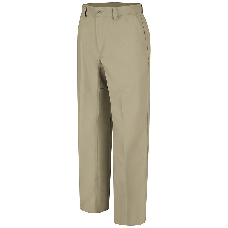 Men's Wrangler Workwear Plain Front Work Pants