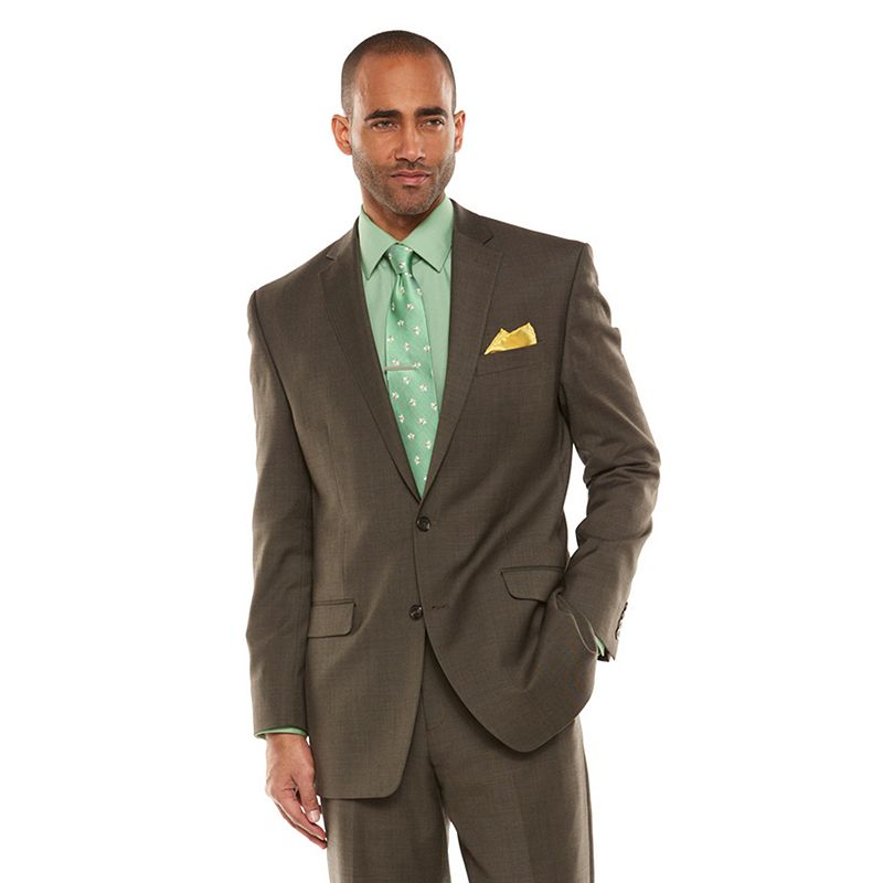 men 39 s chaps performance classic fit wool blend comfort stretch suit jacket dealtrend. Black Bedroom Furniture Sets. Home Design Ideas