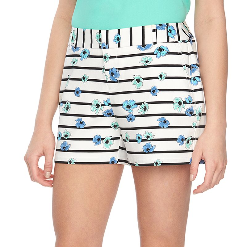 Women's ELLE™ Polished Print Shorts