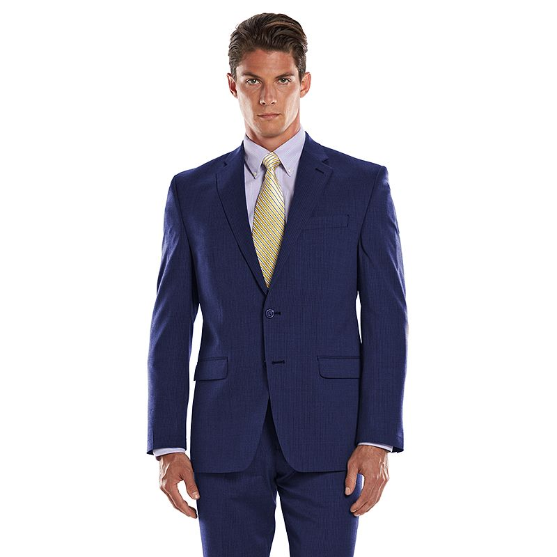 Men's Chaps Performance Classic-Fit Shadow Wool-Blend Comfort Stretch Suit Jacket