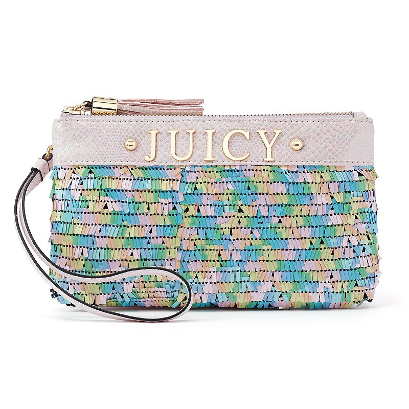 Women's Juicy Couture Sequins Wristlet