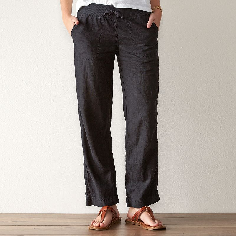 Women's SONOMA Goods for Life™ Wide-Leg Soft Pants
