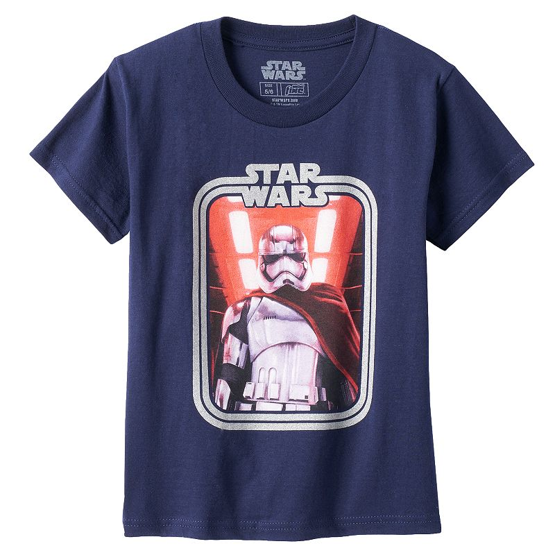 Boys 4-7 Star Wars: Episode VII The Force Awakens Captain Phasma Graphic Tee