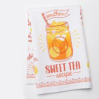 Celebrate Local Life Together Sweet Tea Kitchen Towel