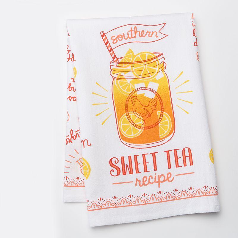 Celebrate Local Life Together Sweet Tea Kitchen Towel