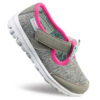 Skechers GOwalk Bitty Bow Toddler Girls' Sneakers