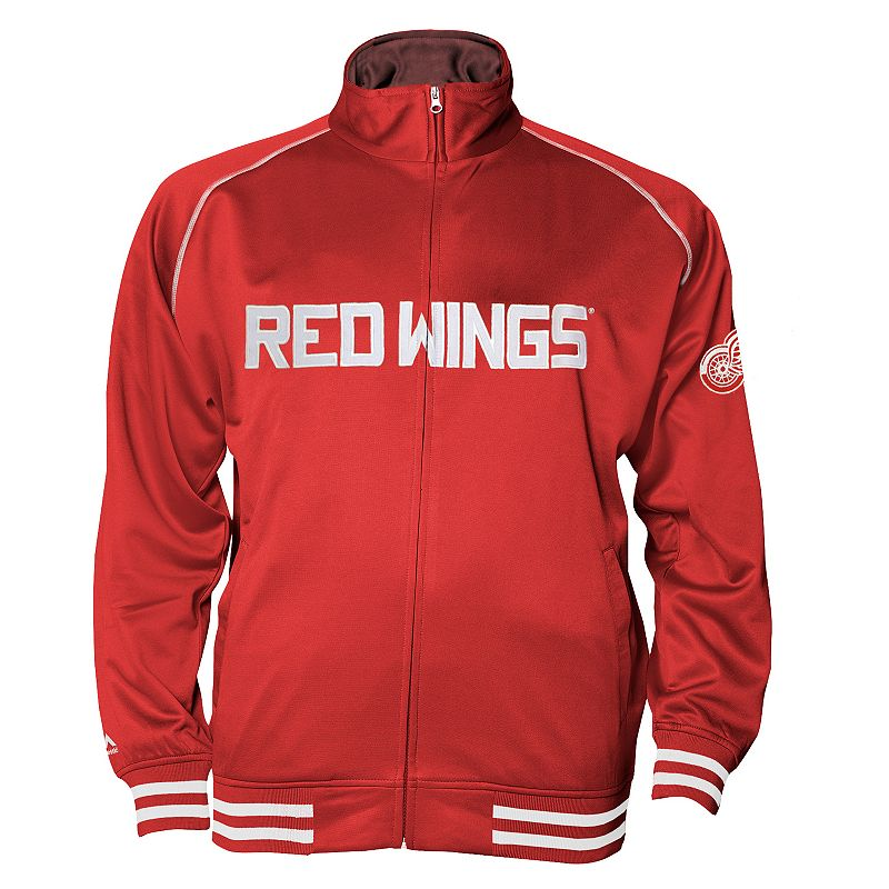 Big & Tall Majestic Detroit Red Wings Tricot Jacket