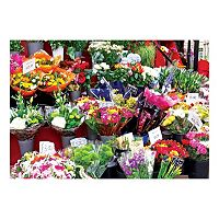 Lafayette Puzzle Factory Colorluxe Series Colorful Market Flowers